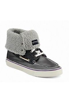 "Sperry Top-Sider ""Abacos"" High Tops. fuzzy boat shoes for the Florida girl in Kansas"