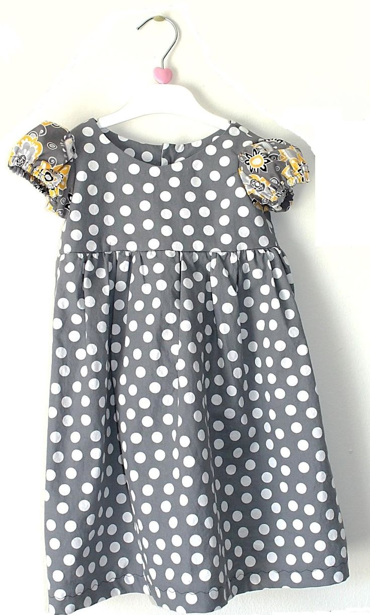 Freshly Completed: Little Miss Dress-- Size 2 t PDF Pattern