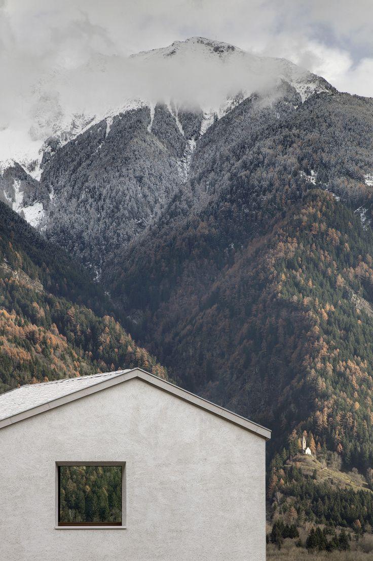 House at Mill Creek by Pedevilla Architects in Bolzano, Italy