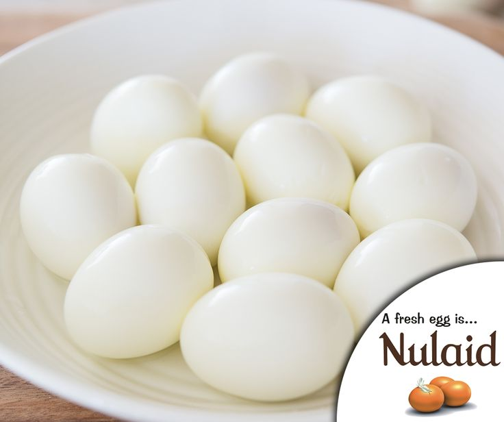 #Lifehack: For best peeling results, wait to peel your eggs when they have cooled down to room temperature. Here are the full instructions: http://ablog.link/4qp. Source: MOMables. #Nulaid