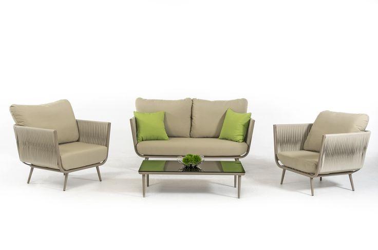 Renava Zoe Outdoor Sofa Set