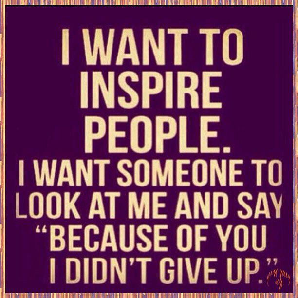 New Job Wishes Sorry to See You Go | want to inspire people. I want someone to look at me and say ...