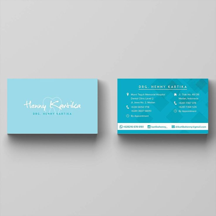 « One of several recent projects. Business card design for dentist based in Medan. Client : @kartikahenny_ Project : Business card design #portfolio… »
