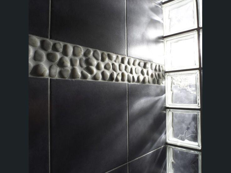 17 meilleures id es propos de salle de bains brique sur pinterest murs de - Brique de verre leroy merlin ...