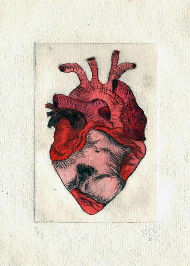 Par Sandra Baud : cœur origine du monde