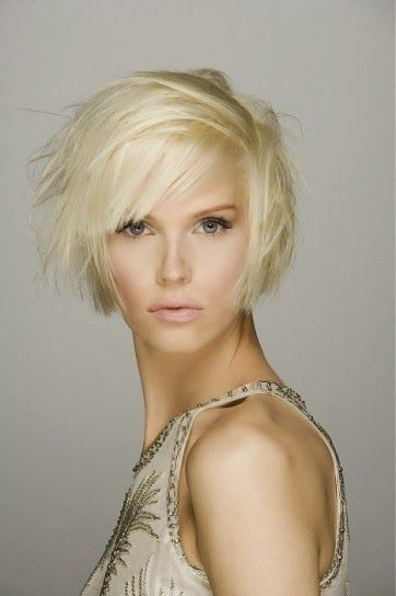 Hairstyle for summer 2014 - Short hair #hairstyle #short #shorthair #blond #summer #style #hair #cut #newcut #rendezvous