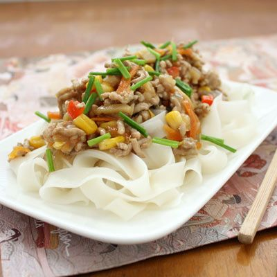 Pork mince stirfry (with chives & bamboo shoots)