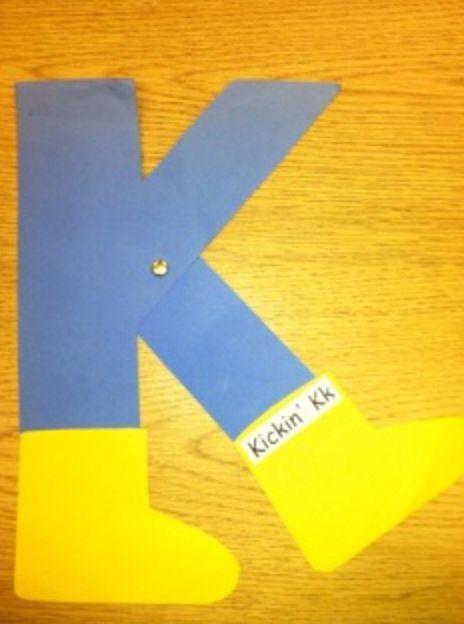 k craft kickin k classroom crafts pinterest letter k crafts letter k and preschool