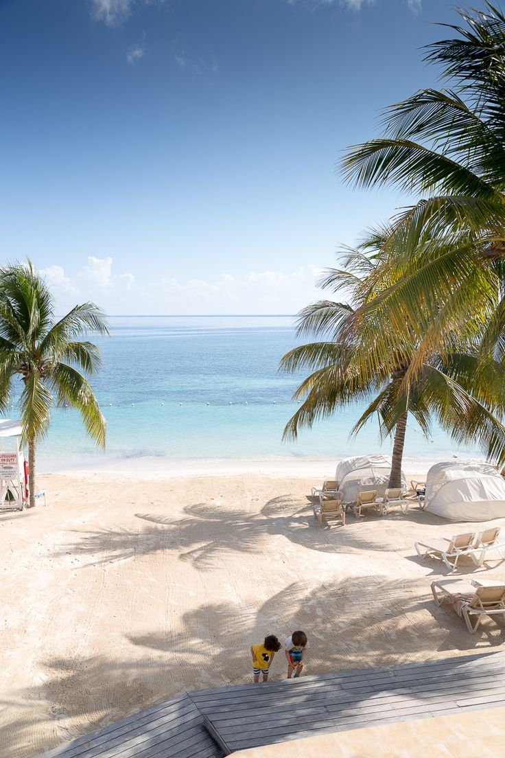 Beaches Resort beach, Ocho Rios, Jamaica