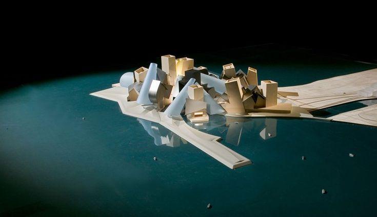 Guggenheim Abu Dhabi, Abu Dhabi, 2012 - Gehry Partners LLP, Frank Owen Gehry