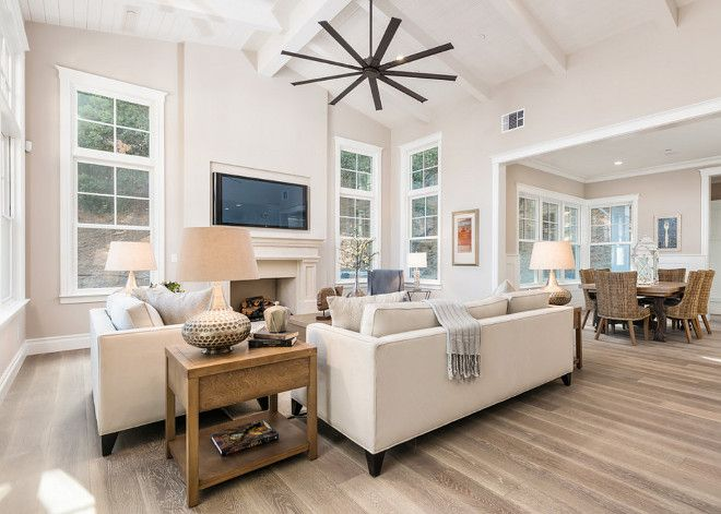 neutral living room paint color is sherwin williams
