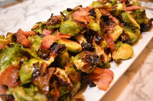 After 10 minutes, toss the Brussels sprouts and bacon in the pan so that the sprouts are coated with bacon and bacon fat. Description from eatlivepaleo.com. I searched for this on bing.com/images