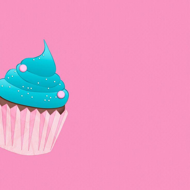 #pink #cupcake #wallpaper | Wallpapers | Pinterest ...