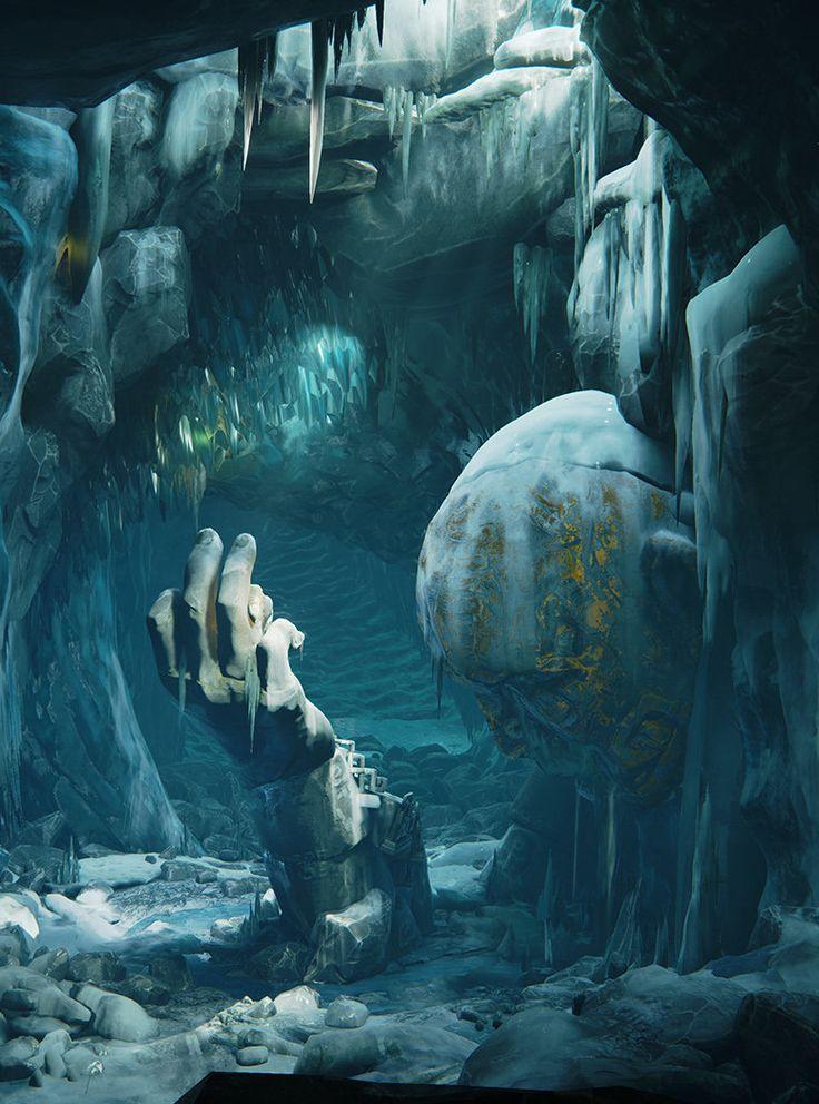 Caverna Estatua da verdade