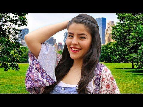 PERFECTA EN VERANO: MAQUILLAJE + PEINADO + OUTFIT | LESSLIE MUSAS LOS POLINESIOS - YouTube