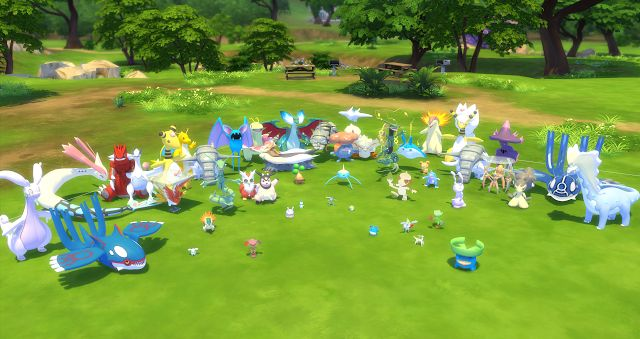 Sims 4 CC's - The Best: Pokemon Set by Wingly Simmer