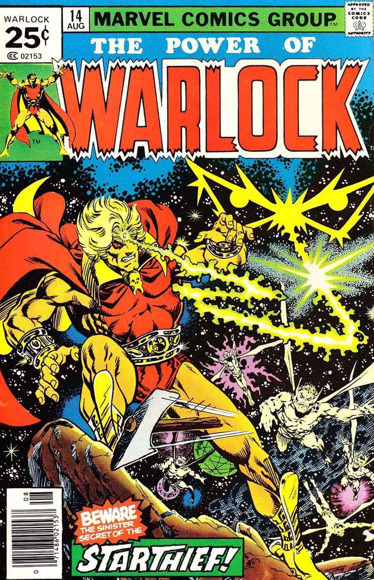 Comic Book Cover Art ~ Best warlock images on pinterest marvel universe