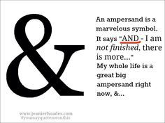 what do all.the ampersand tattoo - Google Search