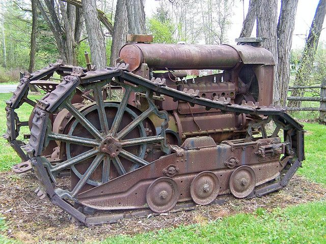 OLD TRACTORS, FORDSON-track, by of Wa., via Flickr