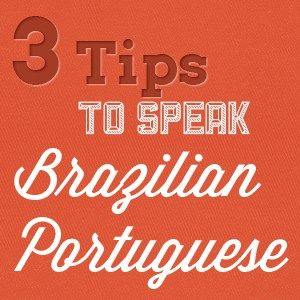 Hello Portuguese speakers. Here I have some tips for you. Before I just wanted to remind you that I'm from Brasil so, this is Brazilian Portuguese, but I think there's not much distinct…