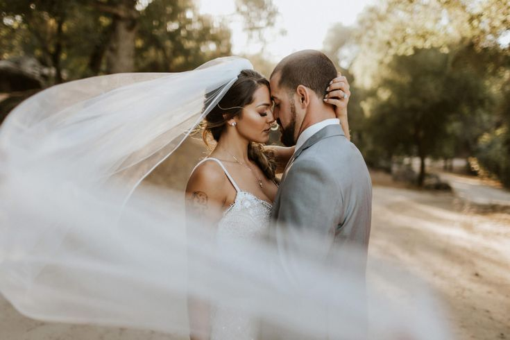 Milagro Winery wedding | veil shot