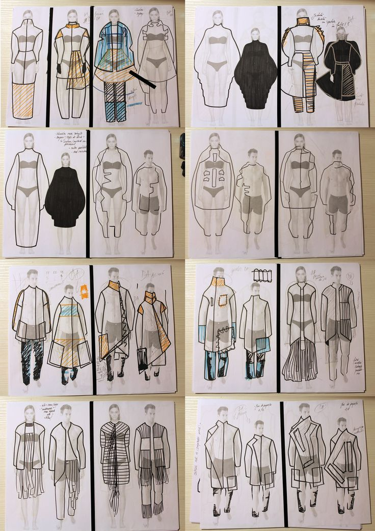 Some Idea Sketches. BA Collection Fall/Winter 2015-2016 Doppelganger by Alina Timar https://es.pinterest.com/alinatimar/doppelg%C3%A4nger-alina-timar-gala-uad-2015/