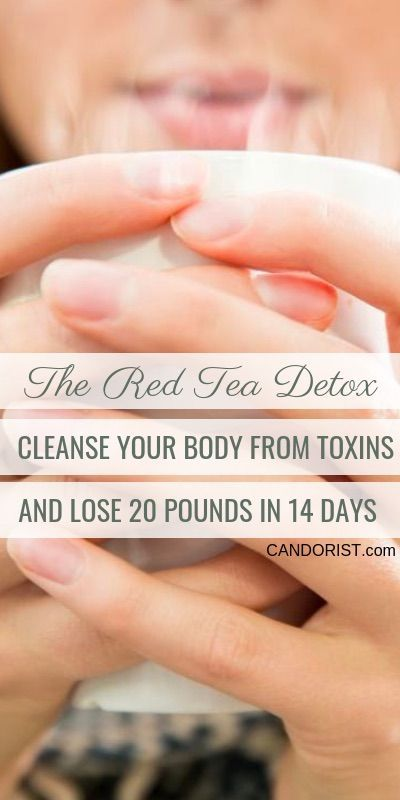 The Red Tea Detox – A Cleansing Program that Detoxifies the Body and Sheds 14 Pounds in 14 Days