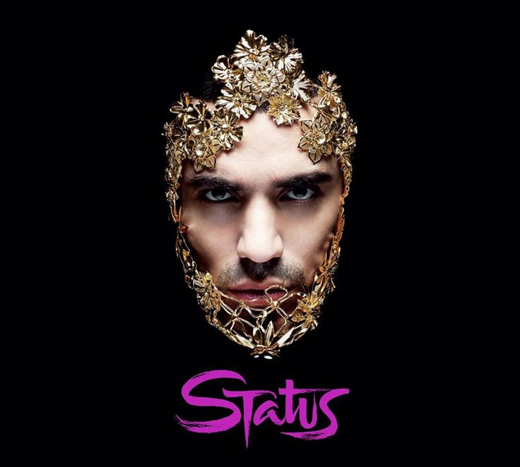 Amazing metal flower mask designed and handmade by emanuele bicocchi on King Marracash new album! [Special thanks go to artist and designer Gino Diamanti who collaborate in the creation of this amazing piece]  #emanuelebicocchi #Status #marracash #handmade #mask