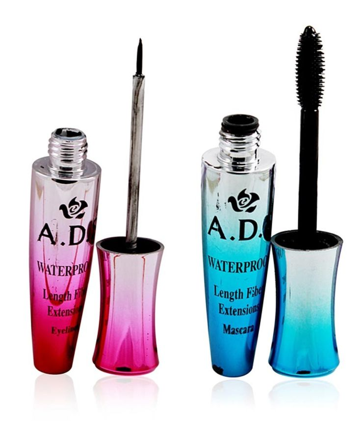 ADS+WATERPROFF+LENGTH+FIBER+EYELINER+&+MASCARA++Free+Liner+&+Rubber+Band+-PHMP.+1+Eye+liner::+1mas…