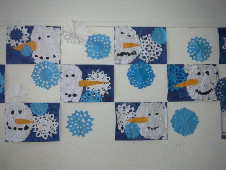 Lumiukkoja (2.lk)