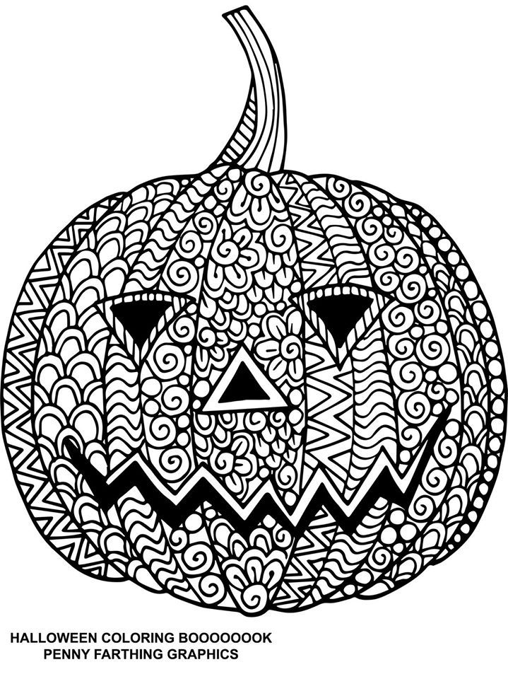 138 best images about jaargetijden en feestelijke dagen on for Pumpkin coloring pages for adults