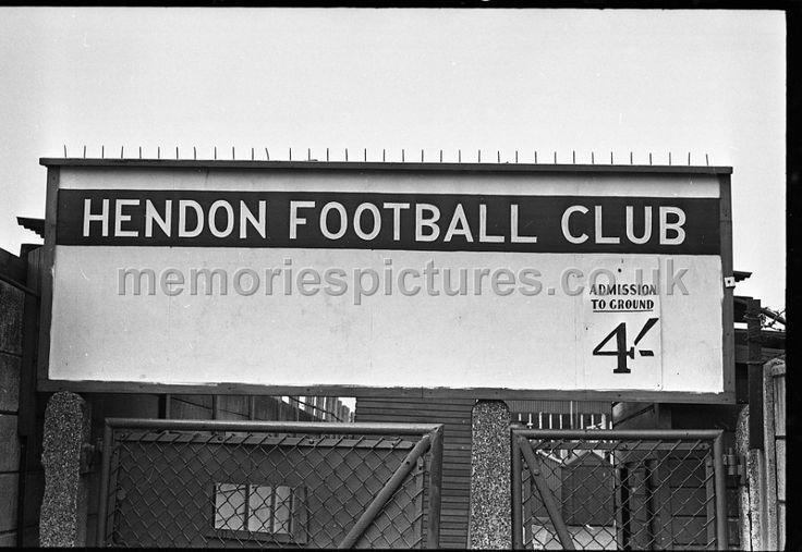hendon football club entrance