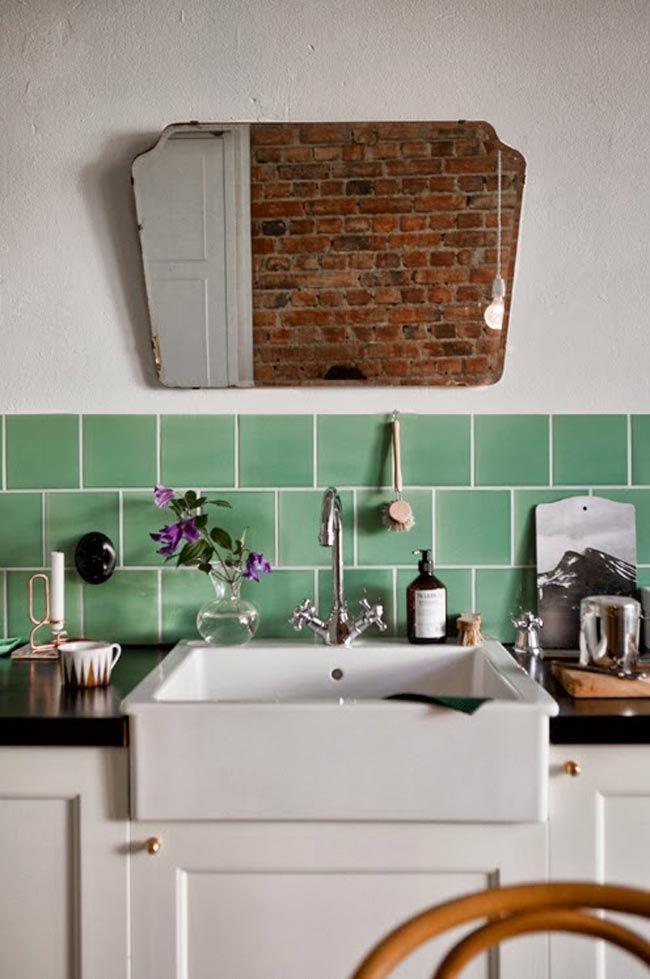 17 mejores ideas sobre azulejos de metro en pinterest - Azulejos de cocina ...