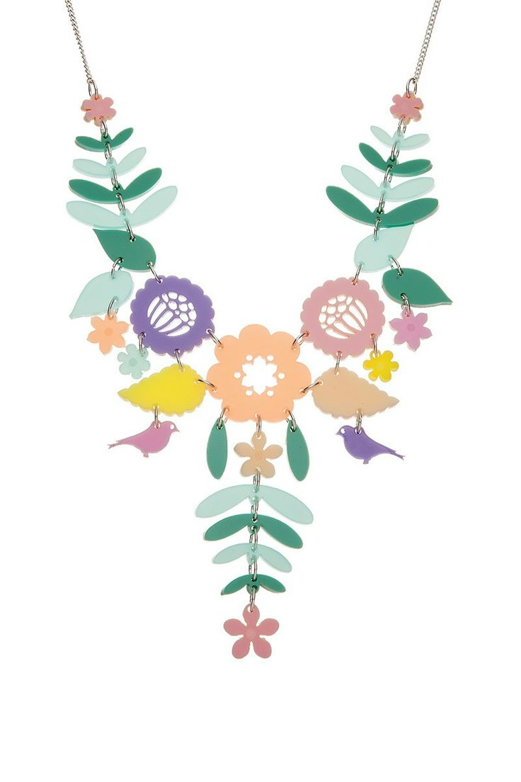 Mexican Embroidery Necklace - Pastels, £95: http://www.tattydevine.com/shop/featured/new-in/mexican-embroidery-pastels.html