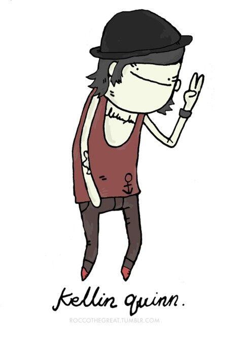 ermagersh, it's Kellern Qwern ;o #kellinquinn #sws #sleepingwithsirens #singer #band