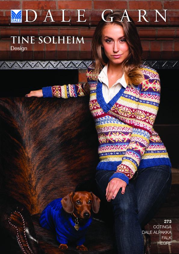 #DaleGarn free pattern download DG273 #TineSolheim