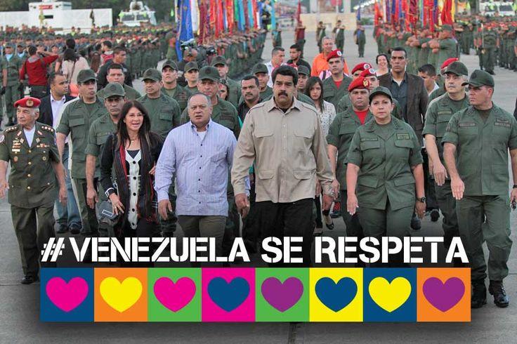 @DrodriguezVen : RT @planwac: El Comité Internacional Justicia Paz y Solidaridad con los Pueblos hoy en apoyo a la Revolución  Bolivariana. Tuitea:  #VenezuelaSeRespeta