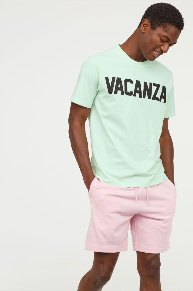6961f1ff T-shirt with Printed Design | Batch Designs | Shirts, T shirt, Prints