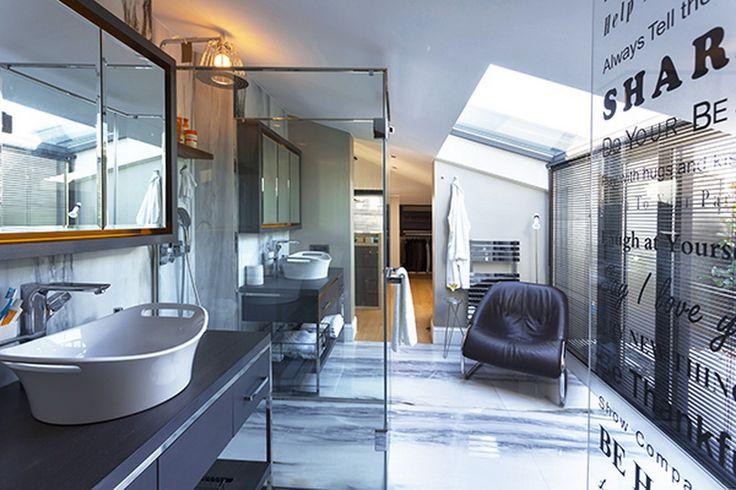 Bathroom, Elle Decoration Turkey June 2015, photographs by Burak Teoman