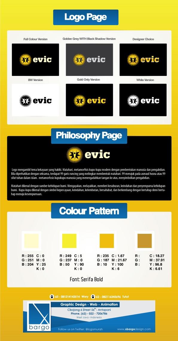 Desain Logo   Evic 9