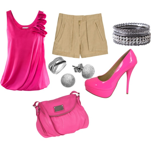 Pink Pink Pink - 79 Best Pink/Gray/Black Outfits Images On Pinterest Black