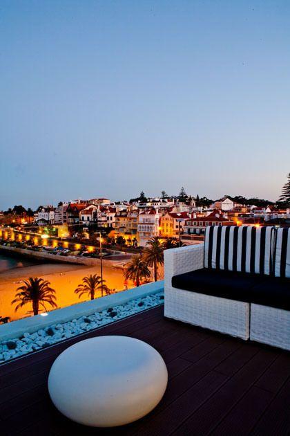Rooftop Blue Bar Café – Hotel Baía (Cascais) #Portugal
