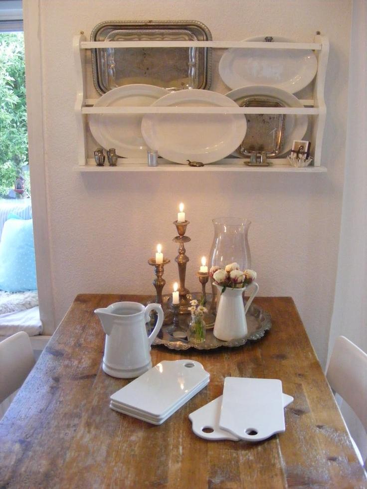 146 best Plate Rack Display Ideas images on Pinterest | Cottage ...