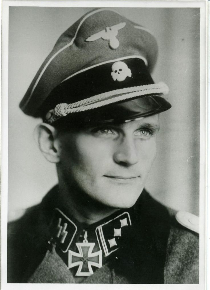 Waffen SS Captain Karl-Heinz Boska was a recipient of the Knight's Cross of the Iron Cross. He served with SS Division Das Reich and SS Regiment Langemack. In Nov 1943, Boska led a fierce counterattack against the Russians; with his five tanks he knocked out 12 Russian armor, one field gun, and killed 380 enemy soldiers. He survived the war and died at 84 in 2004.