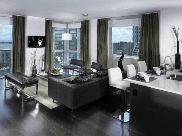 Luxury Black Interior Set from Amazing Living Room Ideas to Make Houses Become Elegant and Modern 600x450 Amazing Living Room Ideas to Make Houses Become Elegant and Modern