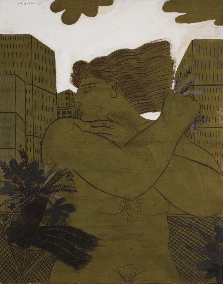 Alecos Fassianos   lot   Sotheby's I MISS YOU BIG CIT Y