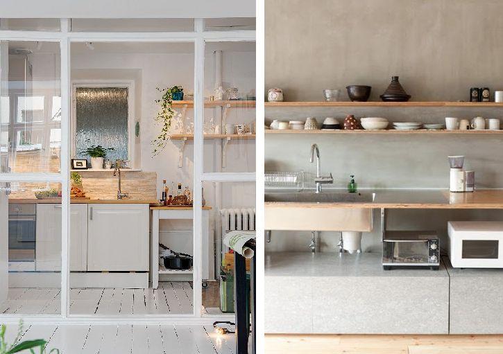 Kuchyne, ktoré sú iné
