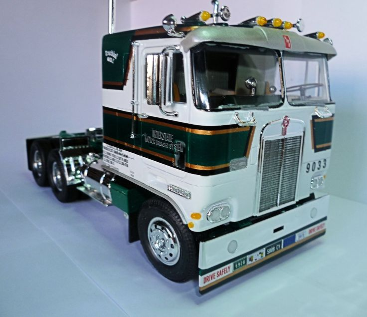 Kenworth K123 (1971) | My truck model kits | Pinterest ...