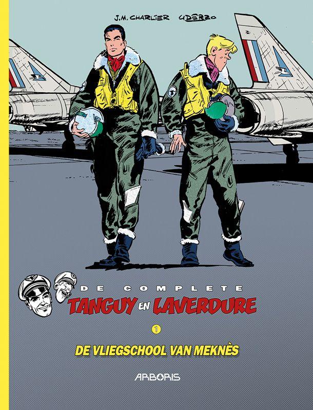 De complete Tanguy en Laverdure 1 De vliegschool van Meknès, Jean-michel Charlier, Albert Uderzo, Arboris