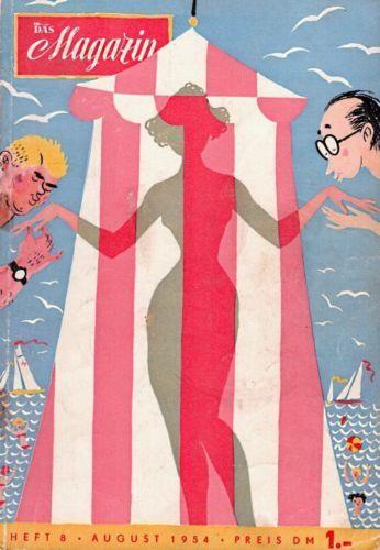 Das-Magazin-8-1954-1-Klemke-Titelbild